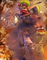 jak and dexter by B4s1l