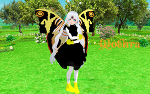 MMD - Mothra - Finished by InvaderBlitzwing