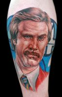 Ron Burgundy by tat2istcecil