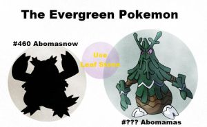 The Evergreen Pokemon: Abomamas by rohanfulton