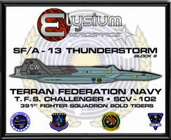 SFA-13 Thunderstorm Poster Commission by viperaviator