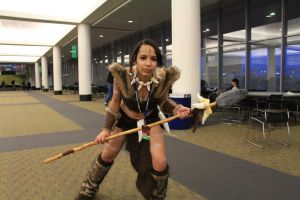 PAX East 2013 - Nidalee by VideoGameStupid