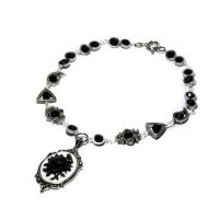 Goth Victorian Necklace Rose by CatherinetteRings