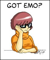 Velma is an Emo grl by d4rkAnimeNoz