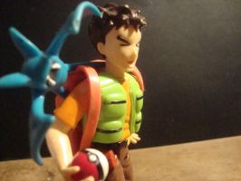 Pokemon - Brock figure by stopmotionOSkun