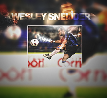 Wesley Sneijder Wallpaper by AsiiMDesGraphiC