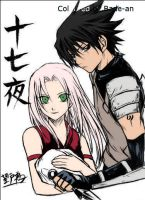 SasuSaku by Bade-an
