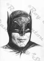 Adam West Batman by RoyStanton