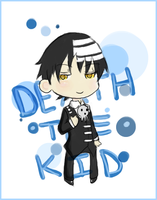 Death the Kid -- X-mas Giftart by confuzzles