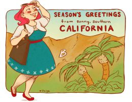 Holiday Card 2013 by paigehwarren