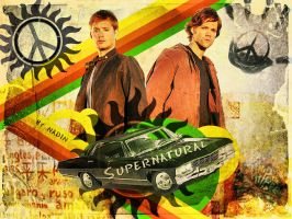 Love Peace Supernatural by Nadin7Angel