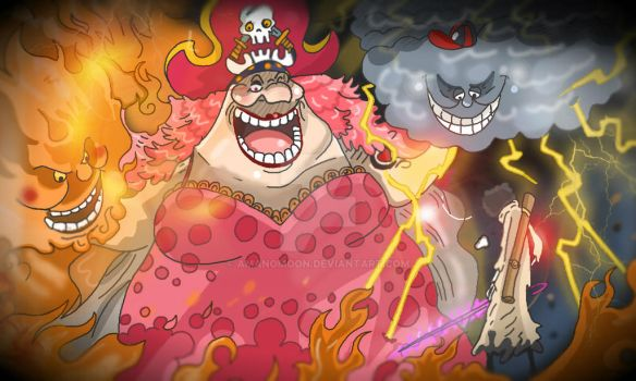 One Piece Chapter 851+ spoilers BIG MOM VS BROOK by Amanomoon
