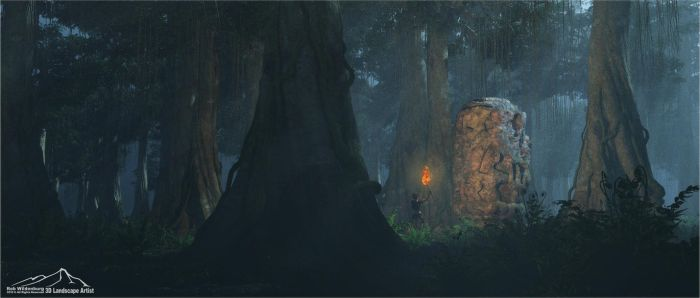 Deep Jungle by 3DLandscapeArtist