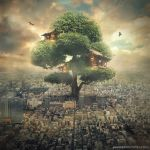 tree house by evenliu