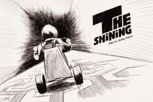 31 Days of Horror: The Shining by Deimos-Remus
