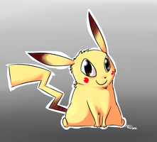 Pikachu by Maoise