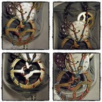 Parts Necklace by KCarey