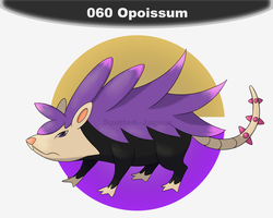 060 - Opoissum by Spotted--Jaguar