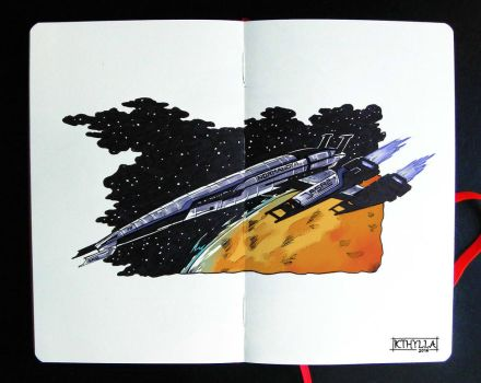 Moleskine: Normandy SR-2 by kthylla