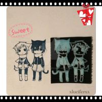 Handmade Rubber Stamp - SOLD by XluciferXX