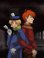 Welcome to the Mad House by zims-lost-soul