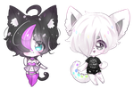 Raffle Prize for Loveless-Zemmy and iiGalaxyTears by SparksTea