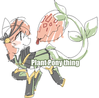 Plant Pony Adopt - closed by Mousu