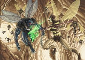 Buzz Off Vs. Spyfly by Patreek