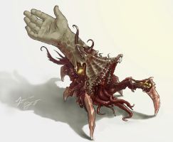 walking limb parasite by Deano-landon