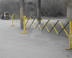 Industrial Yellow Barrier by RussianGentleman