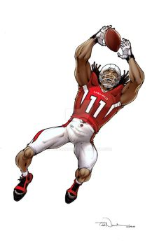 Larry Fitzgerald by ToddNauck