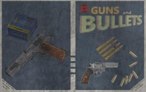Guns and bullets cover by emptysamurai