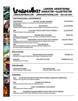 Current resume by LandonLArmstrong