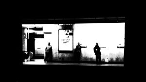 Ghostly Commuters by Smaragd01