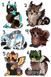 Griffin Adopties [set your price] by PAKALUADOPTABLES