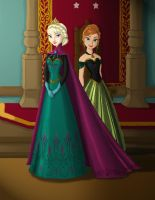 Royals of Arendelle by Lantis-Erin
