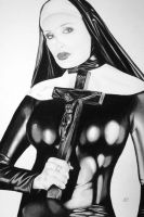 fetish nun by fetishdog
