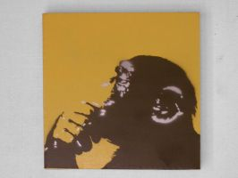 Monkey Stencil by the-jc-monster