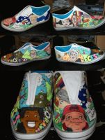 Disney Recess Shoes by Gratian-Grime