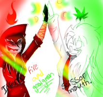 Fire And Weed (Scissor Mouth , Inferno) by DJambersky666