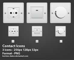 Contact Icons by borislav-dakov