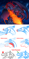 Fire Breathing Dragon Tutorial by Dragoart