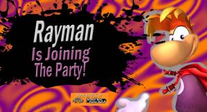 VOTE Rayman for SSB4 DLC by Elemental-Aura