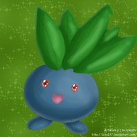 Cute Oddish by izka197