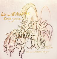 We will always love you by eleanart-approved