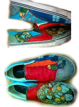 Close To Home Shoes by 6the6metal6head6