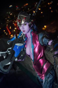overwatch - widowmaker cosplay by Julia-MiFei