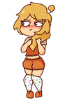 Human Chica by Loc4D3sinador