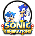 Sonic Generations Button by GAMEKRIBzombie