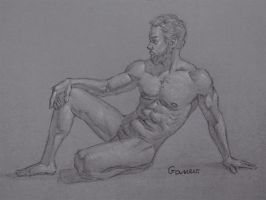 Figure Drawing #1 by AngelGanev